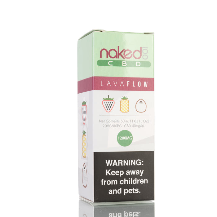 Lava Flow by Naked 100 CBD Vape Juice - 1200mg/30ml