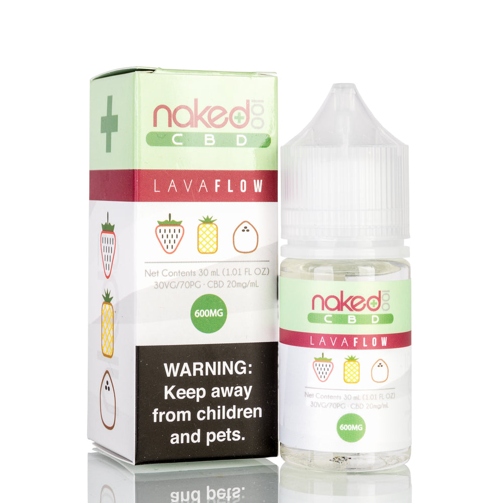 Lava Flow by Naked 100 CBD Vape Juice - 600mg/30ml