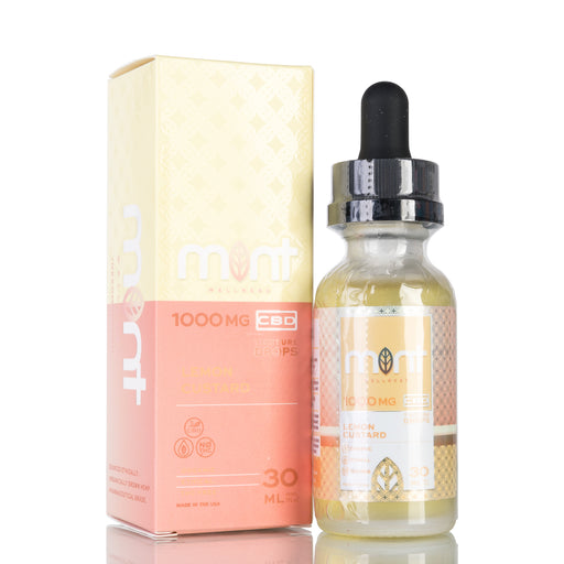 Lemon Custard by Mint Wellness Tincture - 1000mg/30ml