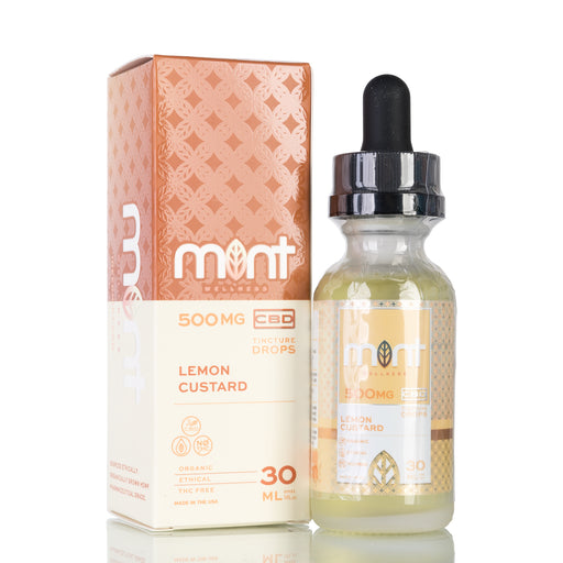 Lemon Custard by Mint Wellness Tincture - 500mg/30ml