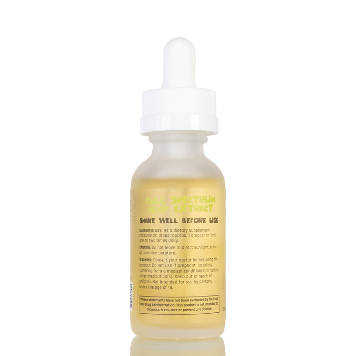 Lemon Limon MCT Oil by Funky Farms Tincture - 250mg/30ml