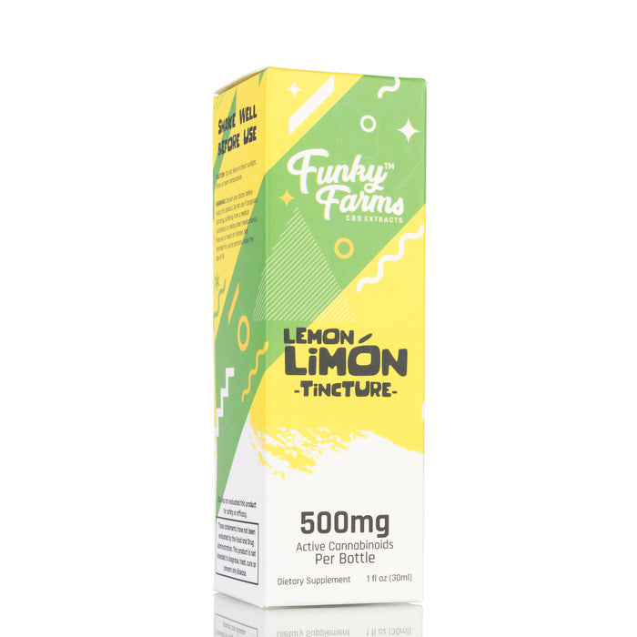 Lemon Limon MCT Oil by Funky Farms Tincture - 500mg/30ml