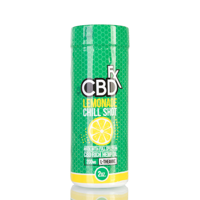 Lemonade Chill Shot by CBDfx Beverage - 20mg/60ml