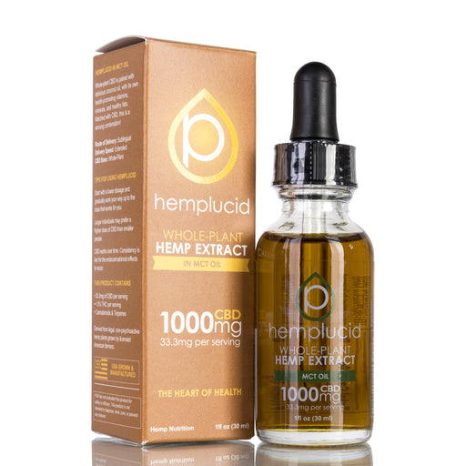 MCT Oil by Hemplucid Tincture - 1000mg/30ml
