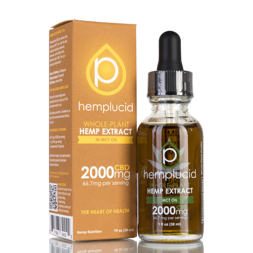 MCT Oil by Hemplucid Tincture - 2000mg/30ml