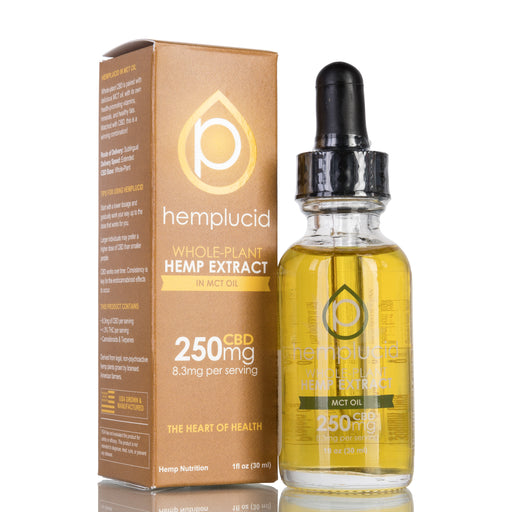 MCT Oil by Hemplucid Tincture - 250mg/30ml