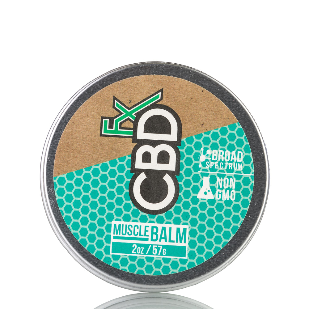 Muscle Balm by CBDfx Topical - 150mg/2oz