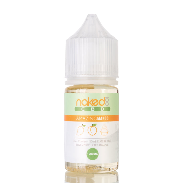 Amazing Mango by Naked 100 CBD Vape Juice - 1200mg/30ml