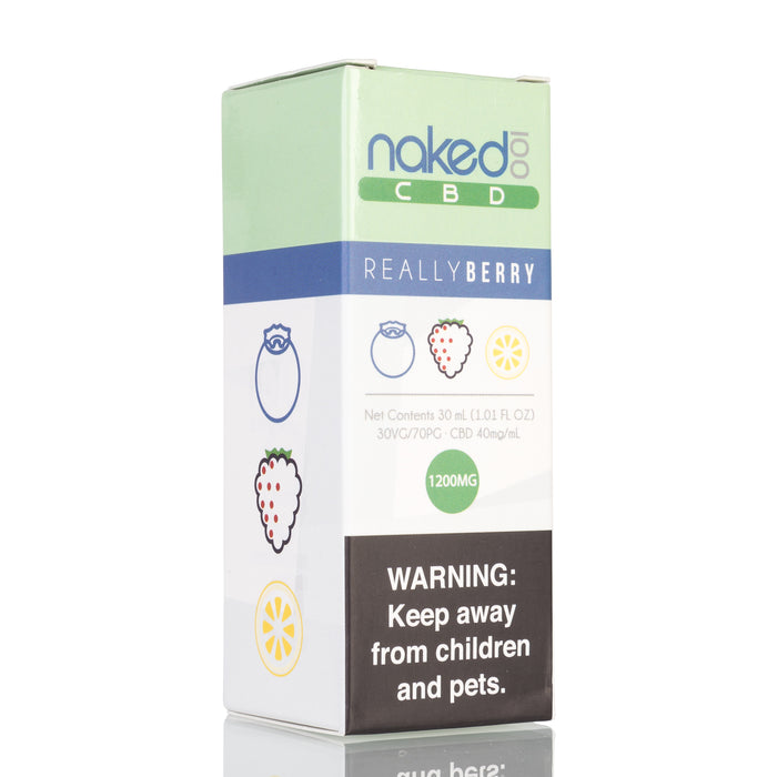 Really Berry by Naked 100 CBD Vape Juice - 1200mg/30ml