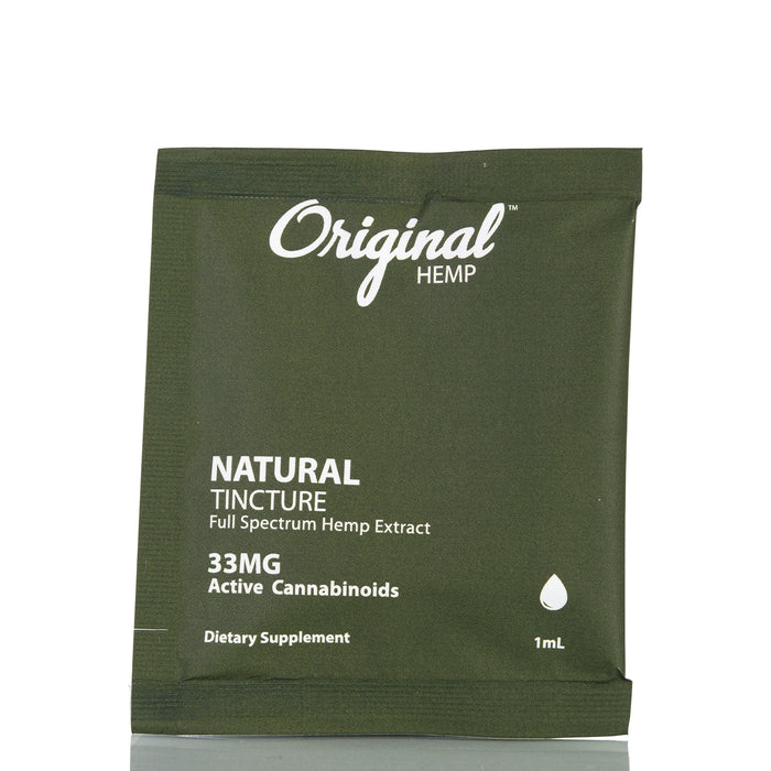 Natural Daily Dose by Original Hemp Tincture - 33mg/1ml
