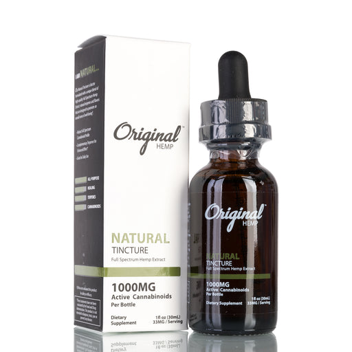 Natural Full Spectrum by Original Hemp Tincture - 1000mg/30ml