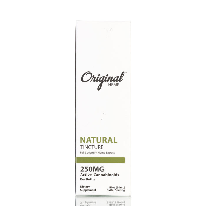 Natural Full Spectrum by Original Hemp Tincture - 250mg/30ml