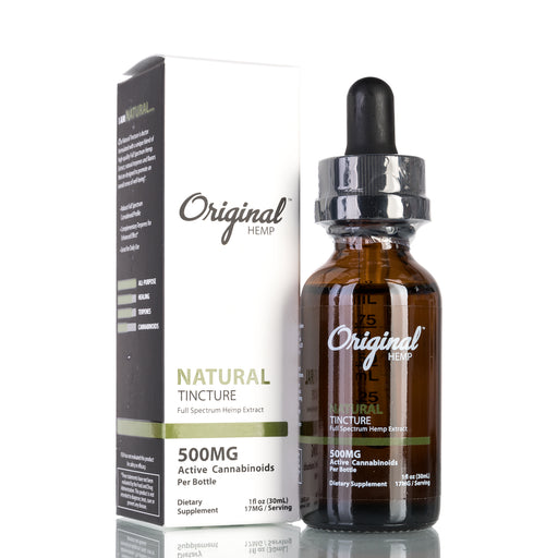 Natural Full Spectrum by Original Hemp Tincture - 500mg/30ml
