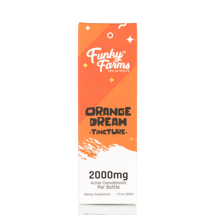 Orange Dream MCT Oil by Funky Farms Tincture - 2000mg/30ml