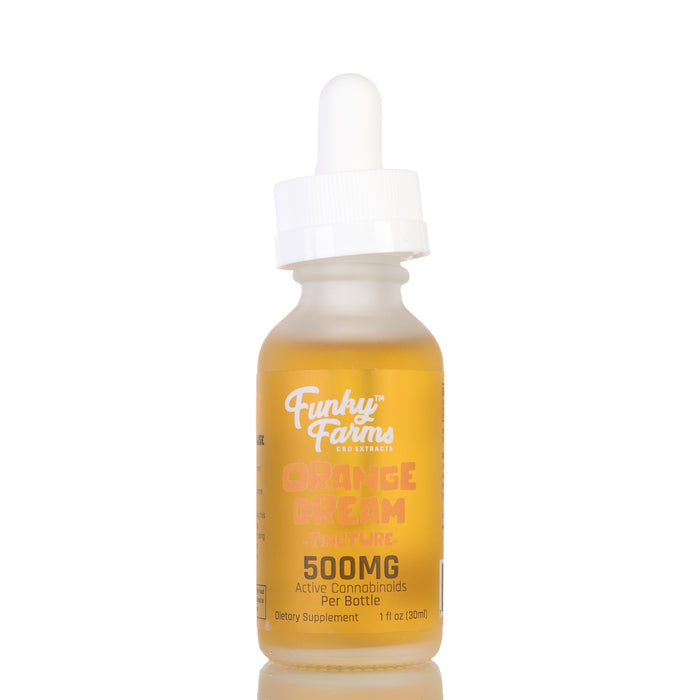 Orange Dream MCT Oil by Funky Farms Tincture - 500mg/30ml