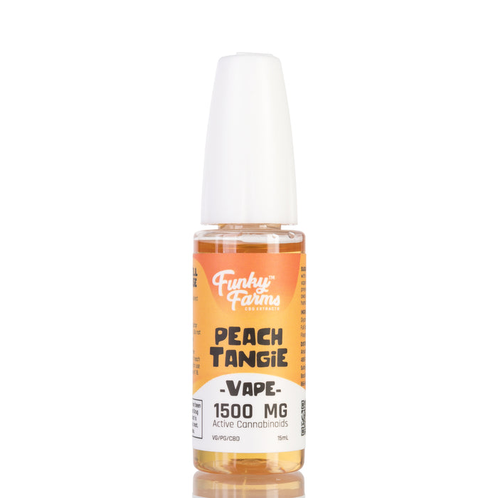 Peach Tangie by Funky Farms Vape Juice - 1500mg/15ml