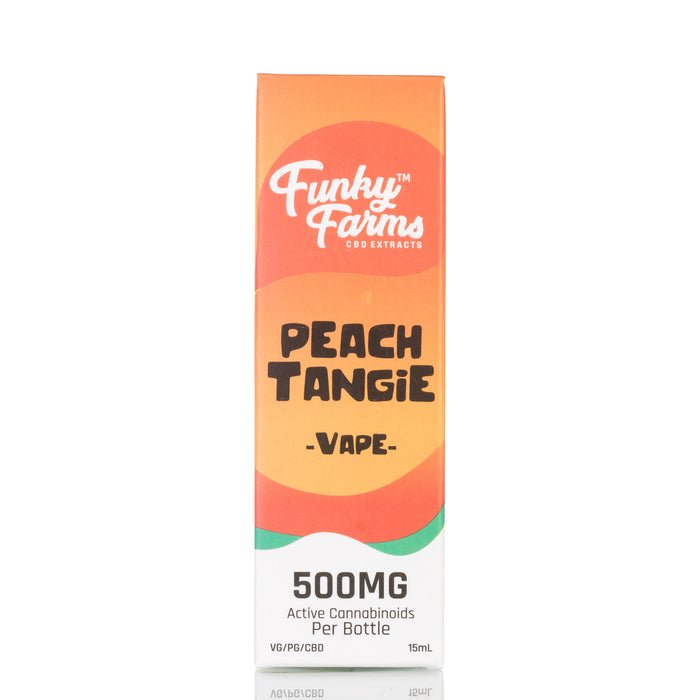 Peach Tangie by Funky Farms Vape Juice - 500mg/15ml