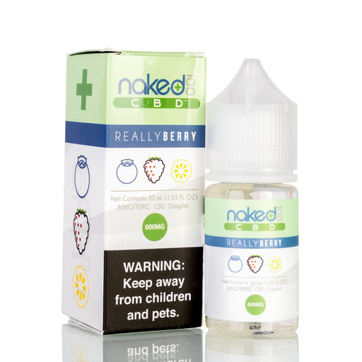Really Berry by Naked 100 CBD Vape Juice - 600mg/30ml