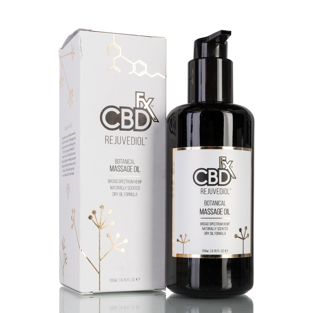 Rejuvediol Massage Oil by CBDfx Topical - 150mg/200ml