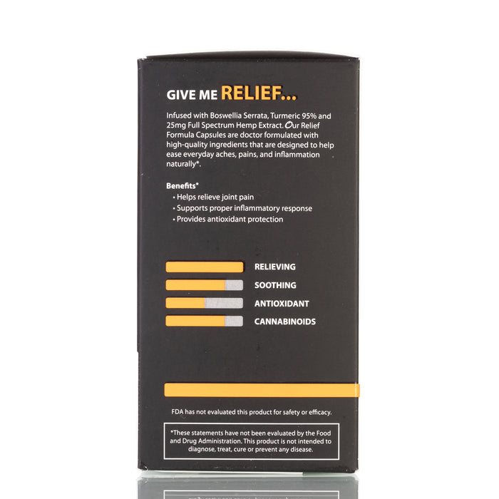 Relief by Original Hemp Capsules - 750mg/60ct