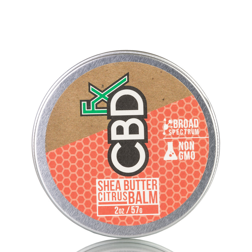 Shea Butter Citrus Balm by CBDfx Topical - 150mg/2oz