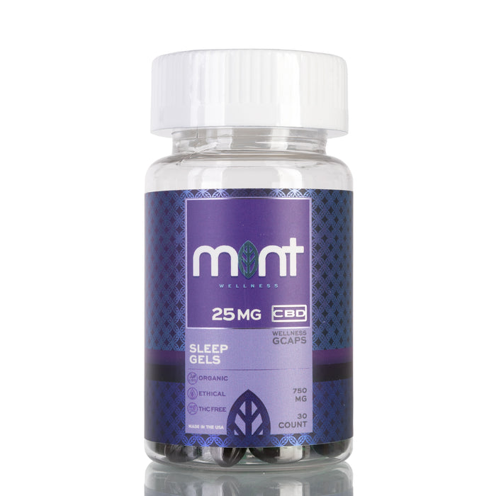 Sleep Gels by Mint Wellness Capsules - 750mg/30ct