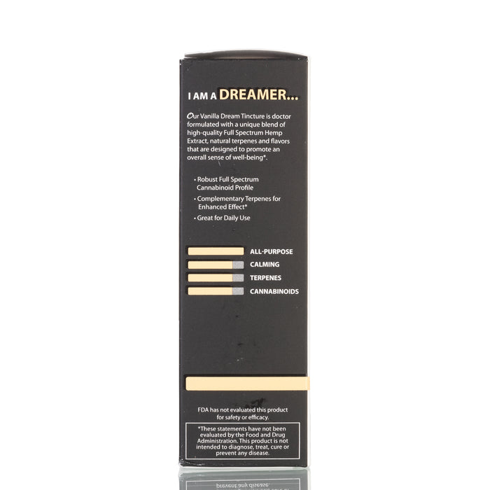 Vanilla Dream Full Spectrum by Original Hemp Tincture - 1000mg/30ml