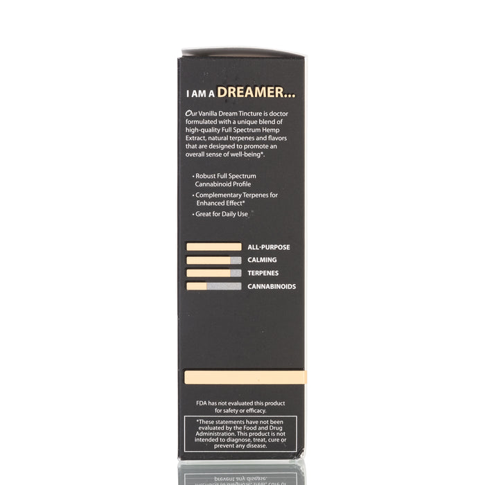 Vanilla Dream Full Spectrum by Original Hemp Tincture - 250mg/30ml