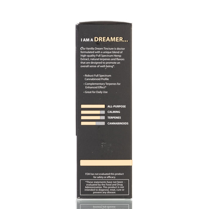 Vanilla Dream Full Spectrum by Original Hemp Tincture - 500mg/30ml