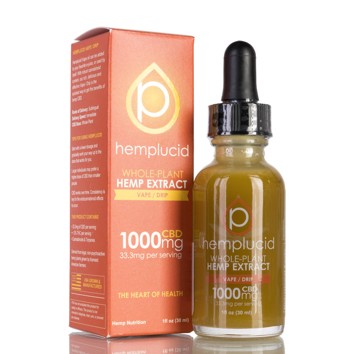 Vape / Drip by Hemplucid Tincture - 1000mg/30ml