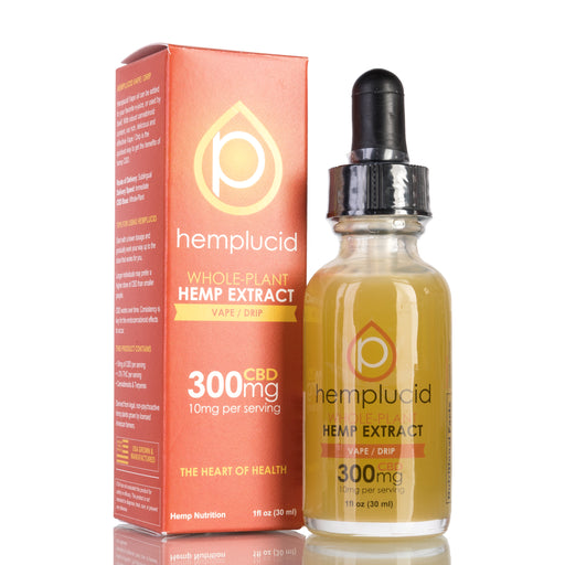 Vape / Drip by Hemplucid Tincture - 300mg/30ml