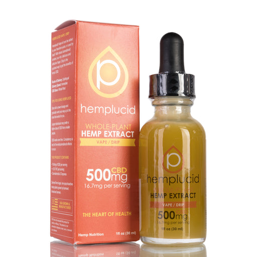 Vape / Drip by Hemplucid Tincture - 500mg/30ml