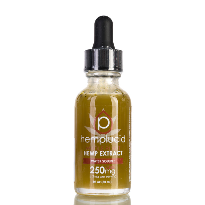 Water Soluble by Hemplucid Tincture - 250mg/30ml