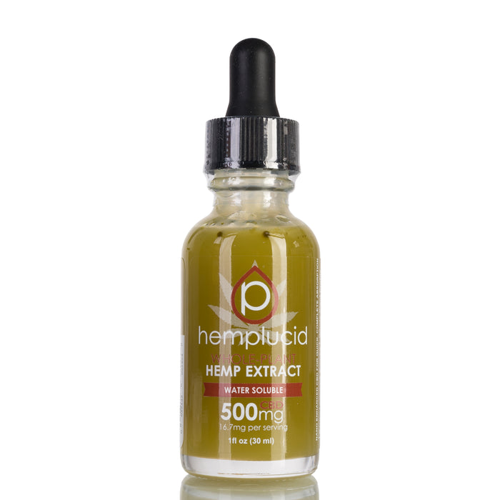 Water Soluble by Hemplucid Tincture - 500mg/30ml