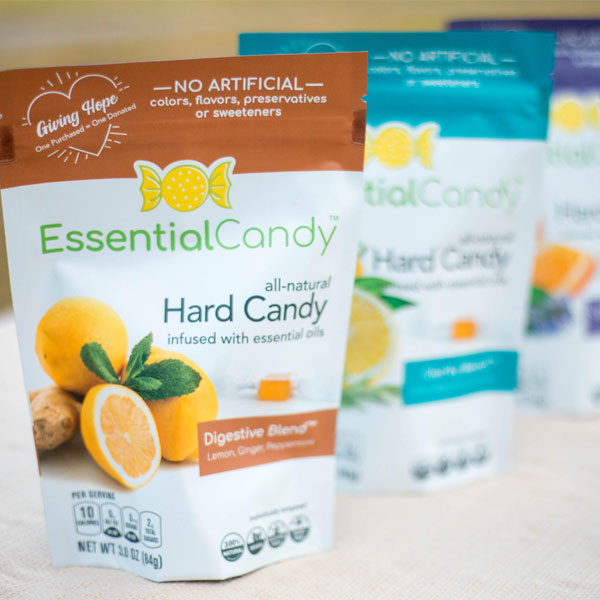 Essential Candy nausea, allergies, stress, hard candy