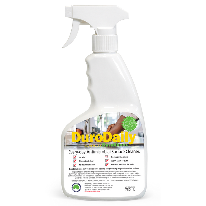 DuroDaily 2in1 Antimicrobial Cleaner 750mL Spray Bottle