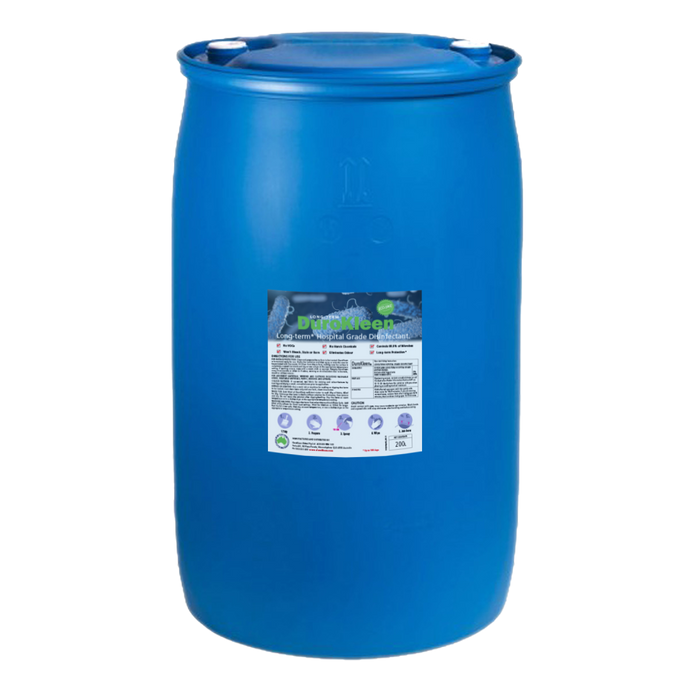 DuroKleen Long-Term Antimicrobial Disinfectant 200L Industrial Drum