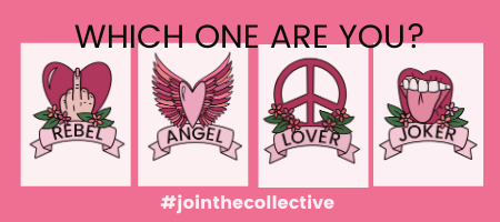 Which one are you home page banner rebel angel lover joker mobile