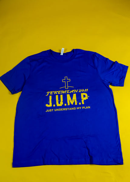 J.U.M.P T-Shirt [Blue/ yellow]