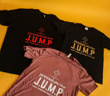 JUMP T-Shirt (Heather Mauve)