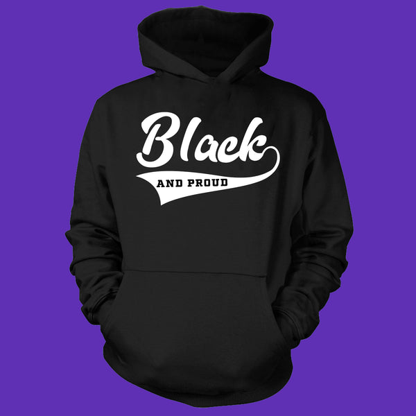Black And Proud Hoodie (Youth Size)