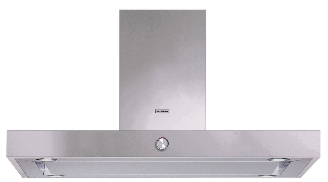 KitchenAid 120 CM Island Hood KAEI120SS premium kitchen appliances