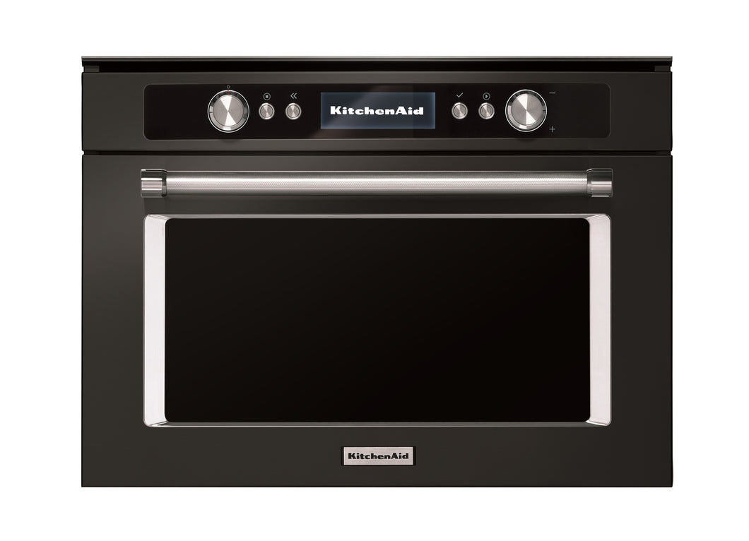 Kitchenaid Steam Oven Black Steel KACSO341B