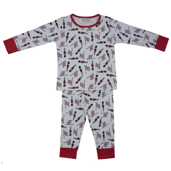 Powell Craft, Pyjamas, Boy's Pyjama Set, Soldiers, Soft Cotton