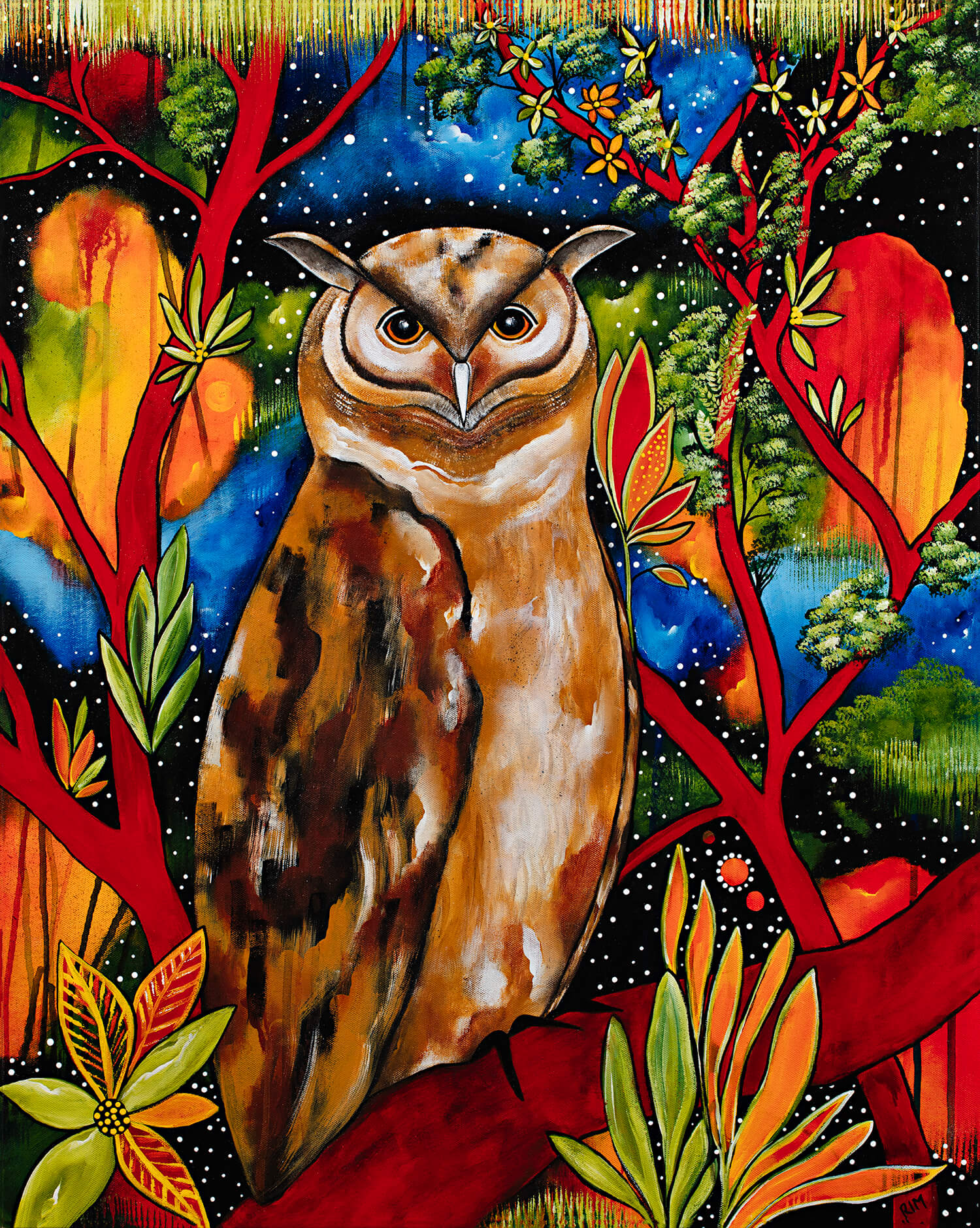 Igor (The Eurasian Eagle Owl) Original Artwork