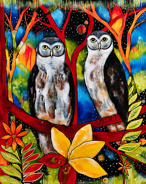 Ned & Kelly (The Barking Owls) / Limited Edition Print