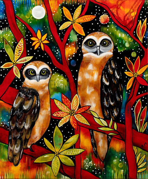 The Boobook Brothers (The Boobook Owls) / Limited Edition Print