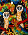 The Sooty Sisters (The Sooty Owls) / Limited Edition Print