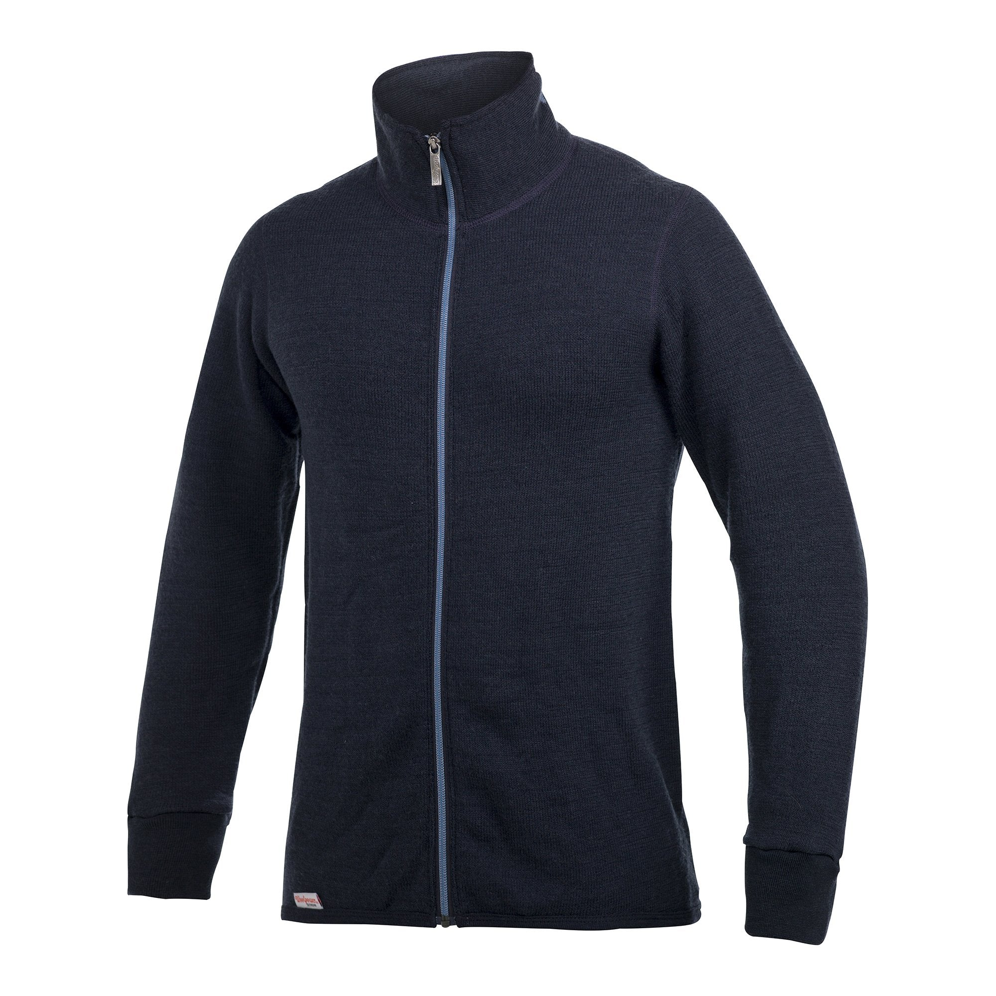 full zip jacket 400 cc - woolpower - dark navy / nordic blue