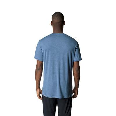 Tree Message Tee - True Blue - Herr